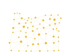 outline of Oregon